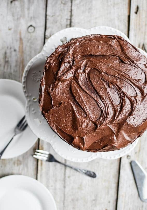 The Best Sourdough Chocolate Cake Recipe Home Grown Happiness
