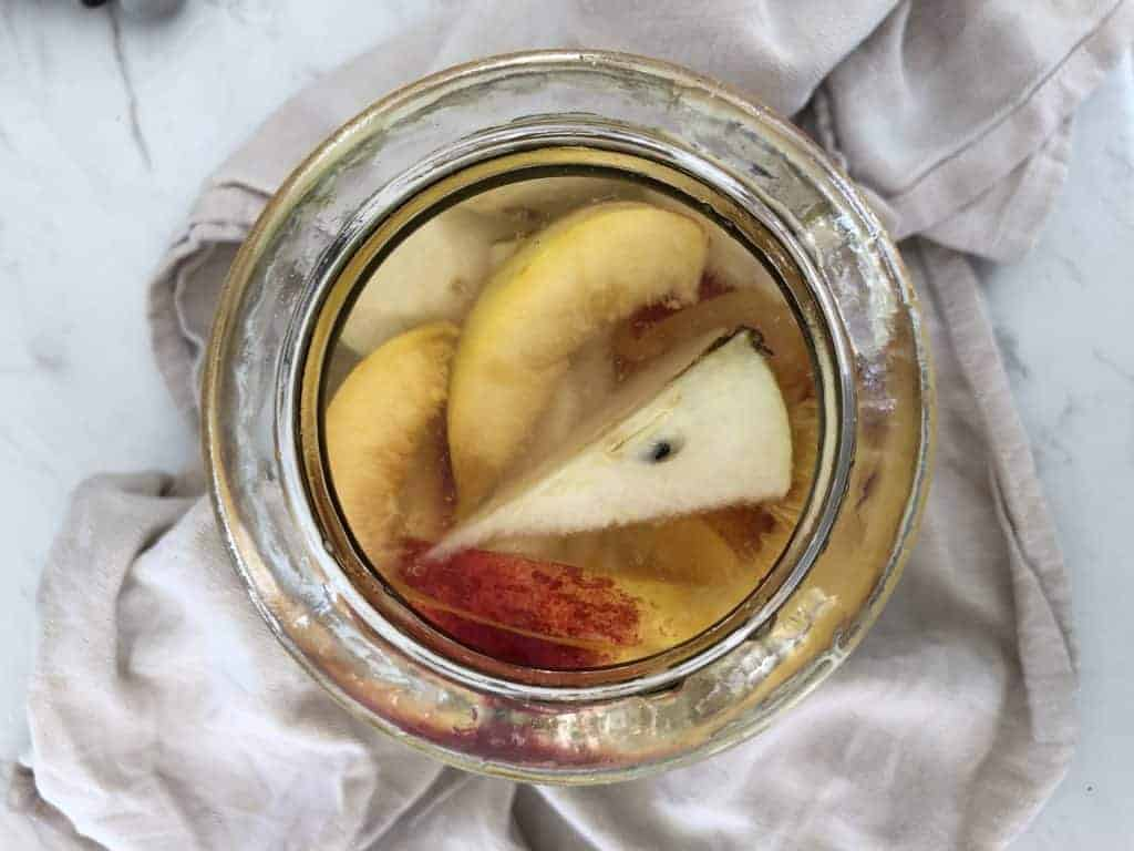 Pear and Nectarine Vinegar