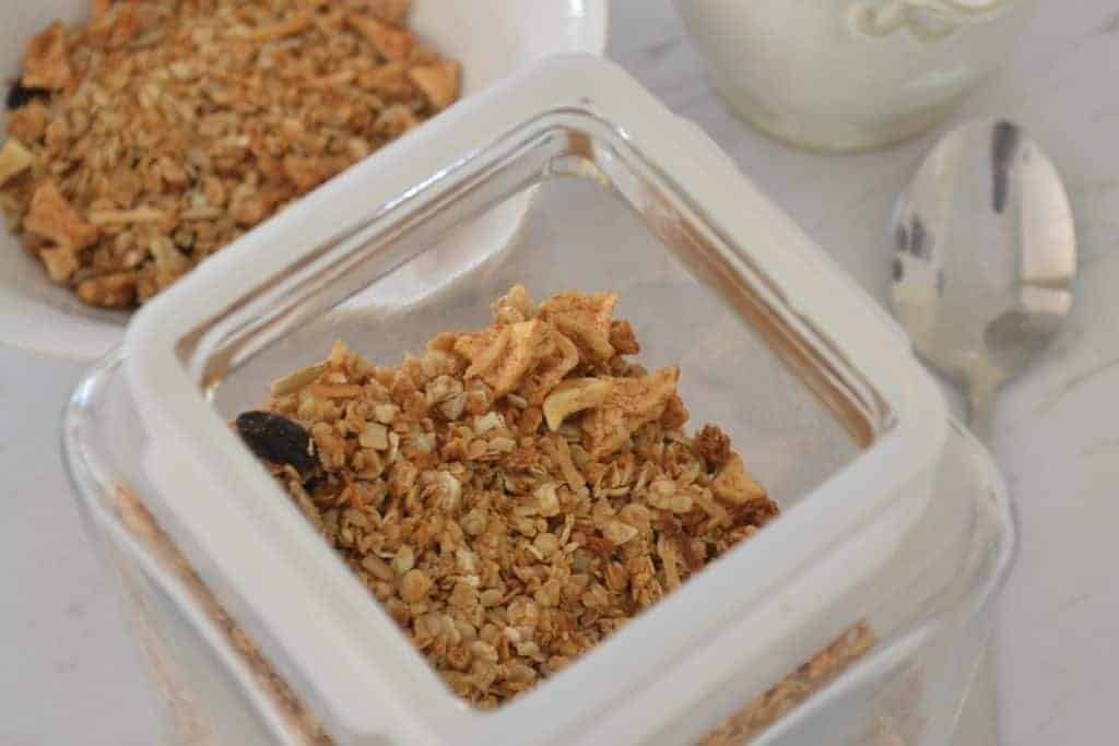 Apple and Cinnamon Muesli