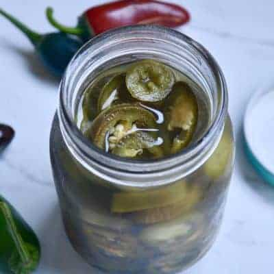 Homemade Pickled Jalapeños