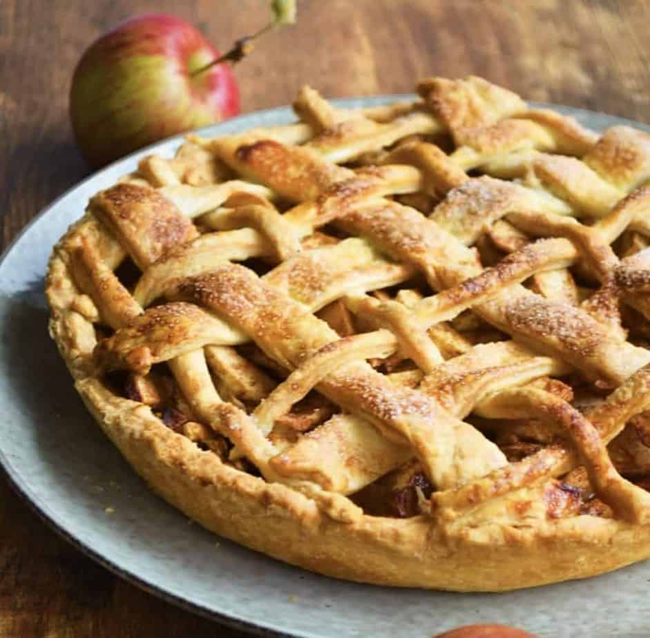Apple Pie with Sourdough Pastry