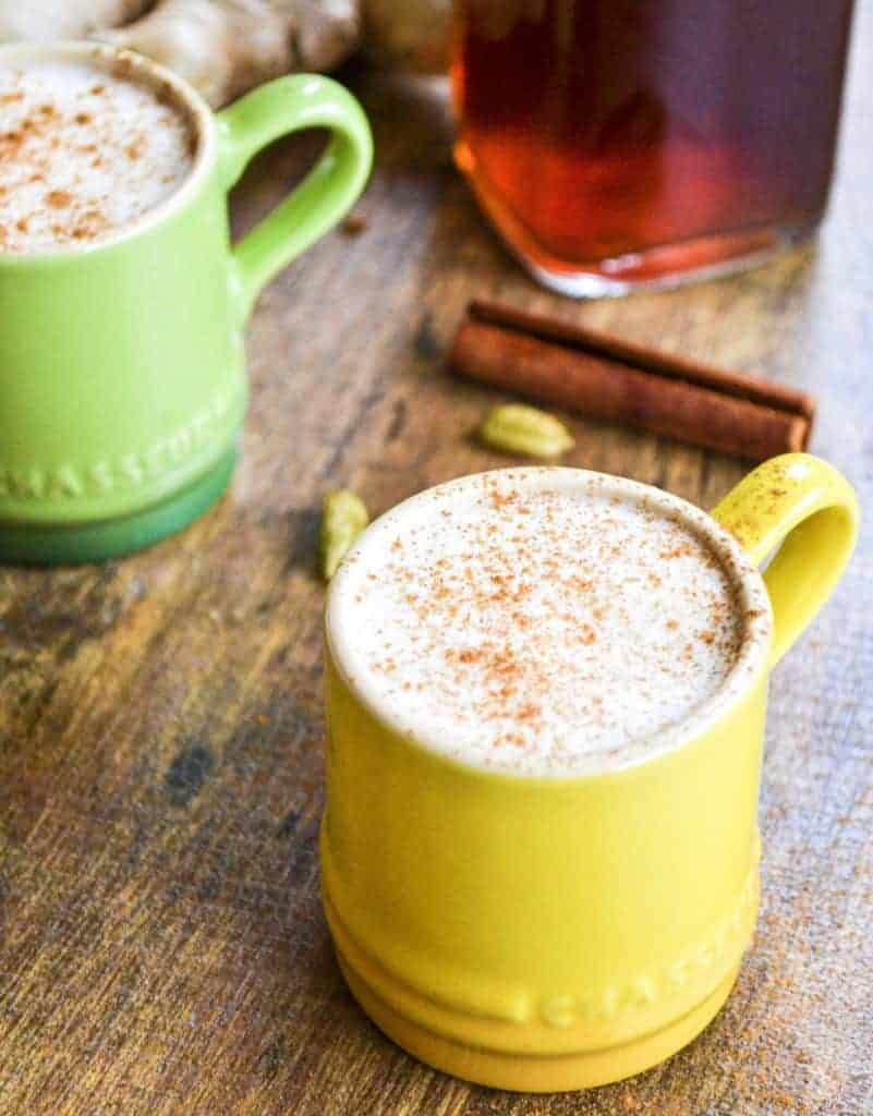 Homemade Chai latte Concentrate