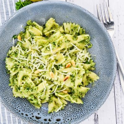 Broccoli Pasta with Lemon and Capers