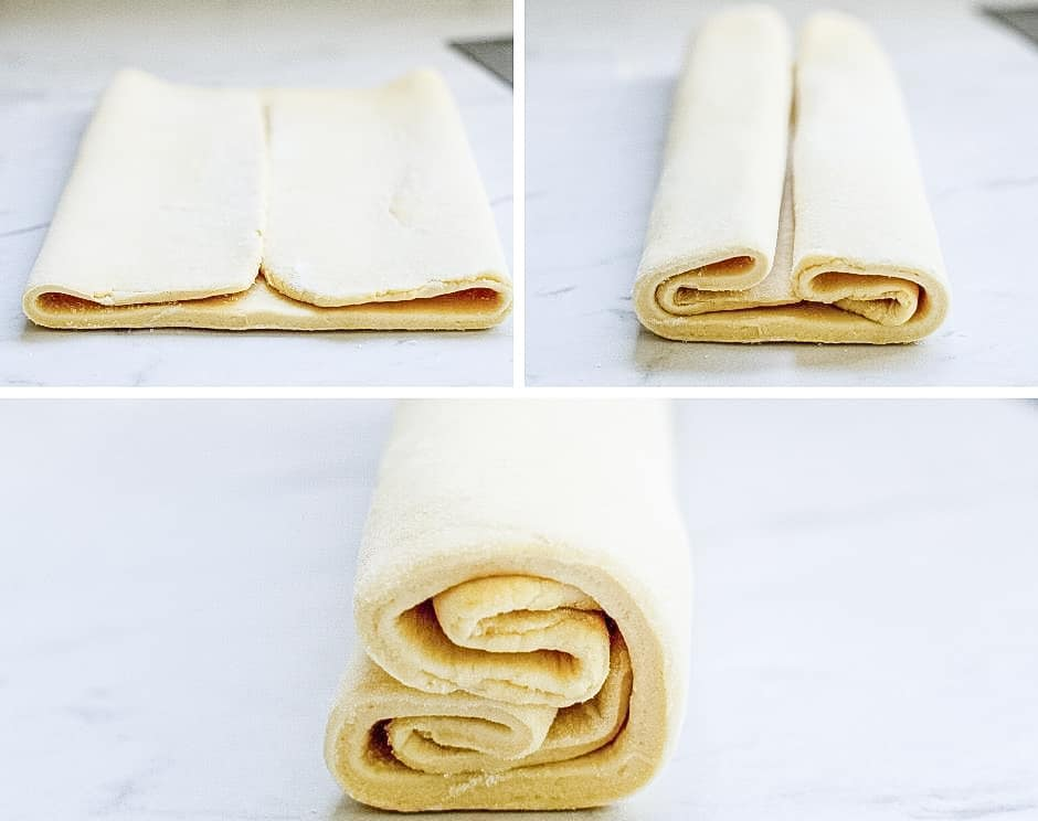 How to fold palmier cookies